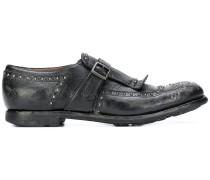 Derby-Schuhe mit Beschlägen