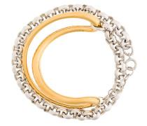 Initial chain bracelet