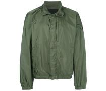 lightweight funnel-neck jacket
