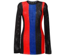 Pullover aus Netzstoff