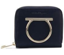 Gancini zip-around French wallet