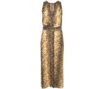 Kleid mit Jaguar-Print