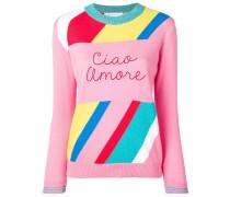 "Pullover mit ""Ciao Amore""-Schriftzug"