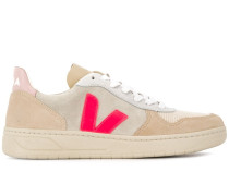 'V-10' Sneakers in Colour-Block-Optik
