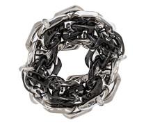 Doppelter Ring im Kettendesign