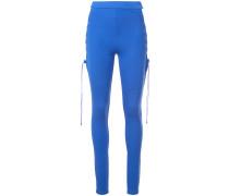 side lace leggings