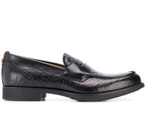 Loafer mit Monogrammmuster