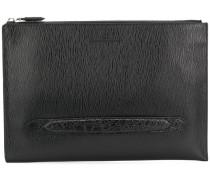 textured clutch bag