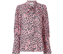 Bluse mit Leopardenmuster
