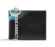 Wings print bi-fold wallet
