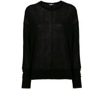 Pullover mit paspelierter Naht