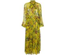 Vegetables print maxi dress
