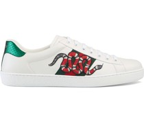 Low-Top-Ace-Sneaker mit Stickerei