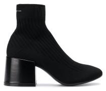 Sock-Boots mit Blockabsatz