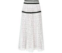 broiderie anglaise maxi skirt