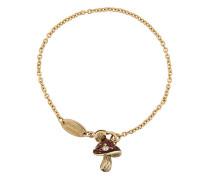 Mushroom chain bracelet