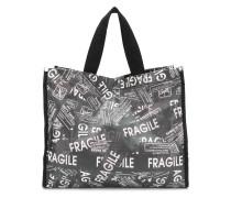 """Shopper mit """"Fragile""""-Print"""