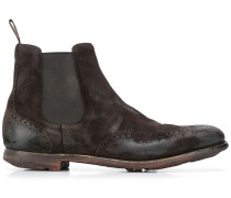 Chelsea-Boots in Distressed-Optik