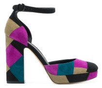 Pumps im Patchwork-Look