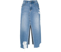 Jeansrock mit Cut-Out