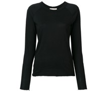 longsleeved fitted T-shirt