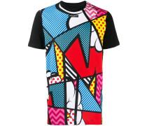 T-Shirt mit Pop-Art-Print