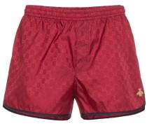 Red GG Monogram Swimshorts