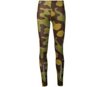 Leggings mit Camouflage-Print