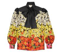 Bluse mit Blütenmuster