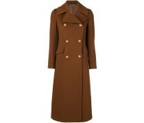 Langer Mantel mit Knopfverschluss