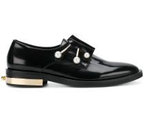 Loafer mit Perlen-Details