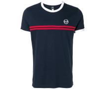 striped detail T-shirt