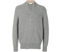 Woll-Sweatshirt mit V-Ausschnitt