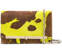 animal print clutch bag