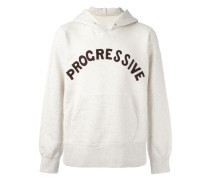 "Kpauzenpullover mit ""Progressive""-Patch"