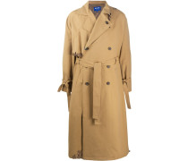 Trenchcoat in Distressed-Optik