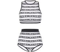 Bikini mit Logo-Print