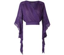 Gilda wrap style blouse