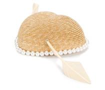Hut mit Kunstperlen