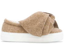 Slip-On-Sneakers mit Schleife
