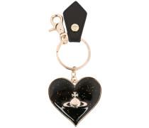 Orb heart keyring