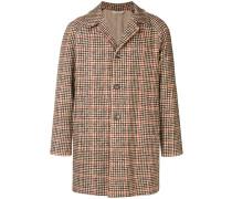 Klassischer Mantel mit Karomuster