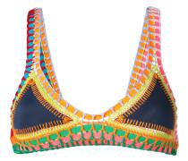 'Embroidered Tasmin' Bikinioberteil
