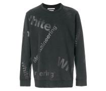 logo printed sweatshirt