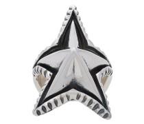 'Spike Star' Silberring