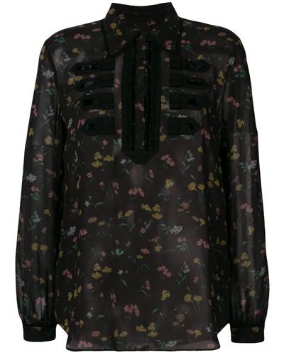 'Wildflower' Military-Hemd