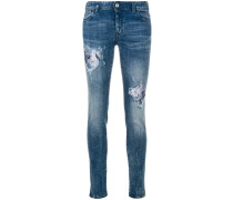 Jeans mit Patch