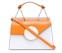 Mini Handtasche in Colour-Block-Optik