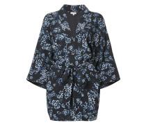 Seidenoberteil im Kimono-Look