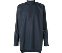 half button shirt